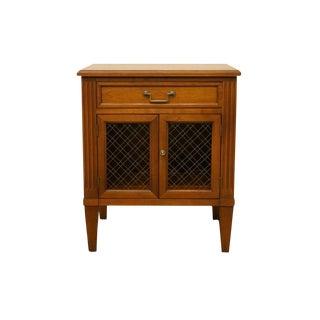 20th Century Italian Henredon Cabinet Nightstand For Sale