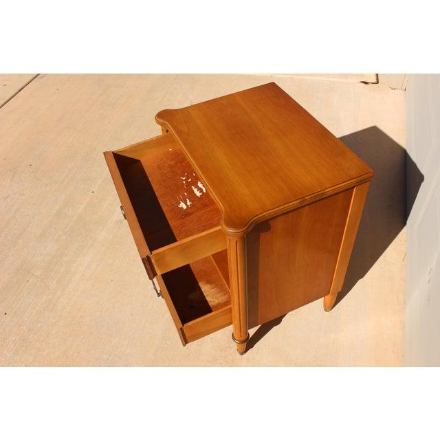 1950s Danish Modern j.b. Van Sciver Co. Nightstand Side Table For Sale - Image 9 of 13