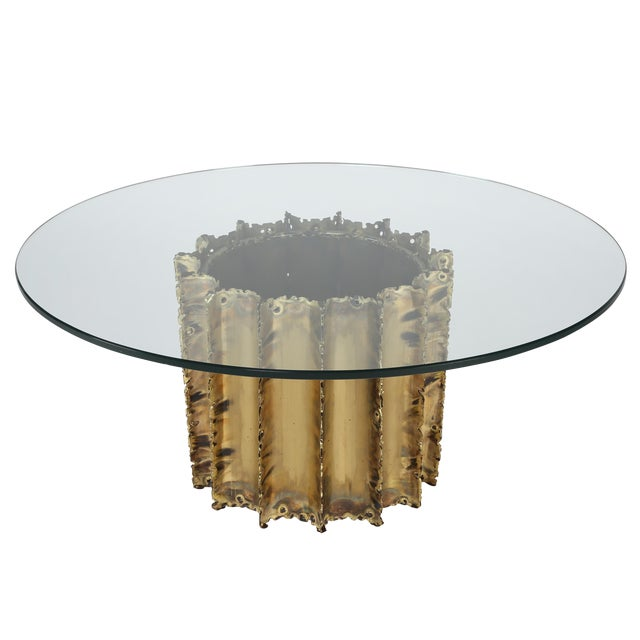 TOM GREENE BRUTALIST COFFEE TABLE, CIRCA 1970S - Image 1 of 8