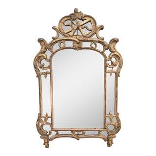 19th Century French Rococo Giltwood Mirror