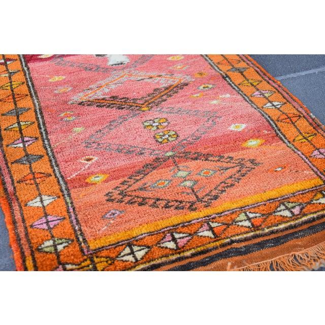 Vintage Turkish Oushak Door Mat Rug - 1′11″ × 3′4″ For Sale In San Francisco - Image 6 of 6