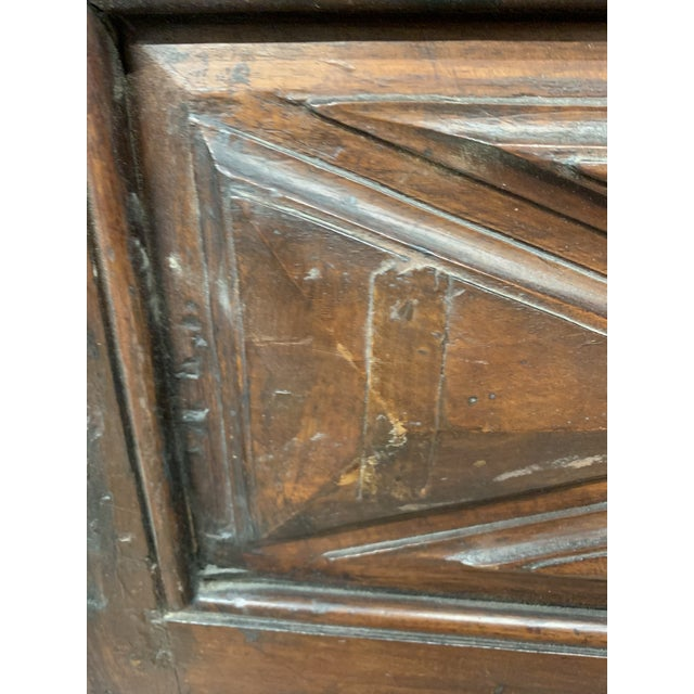 Metal Late 18th C Antique French Oak Armoire Doors, a Pair For Sale - Image 7 of 13