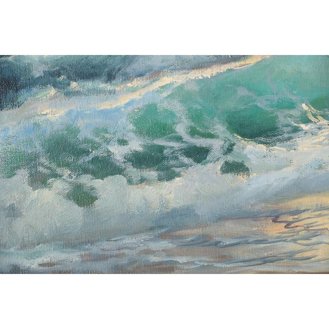 California Shoreline, Oil Painting by A. Dzigurski - Image 7 of 10
