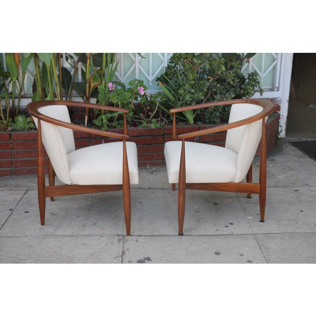 Kodawood Lounge Chairs - a Pair For Sale - Image 5 of 11