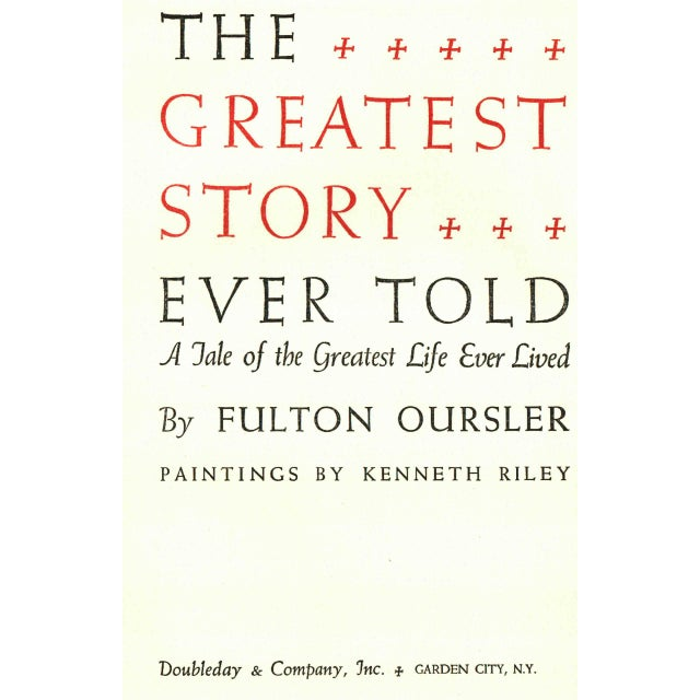 Traditional The Greatest Story Ever Told For Sale - Image 3 of 5