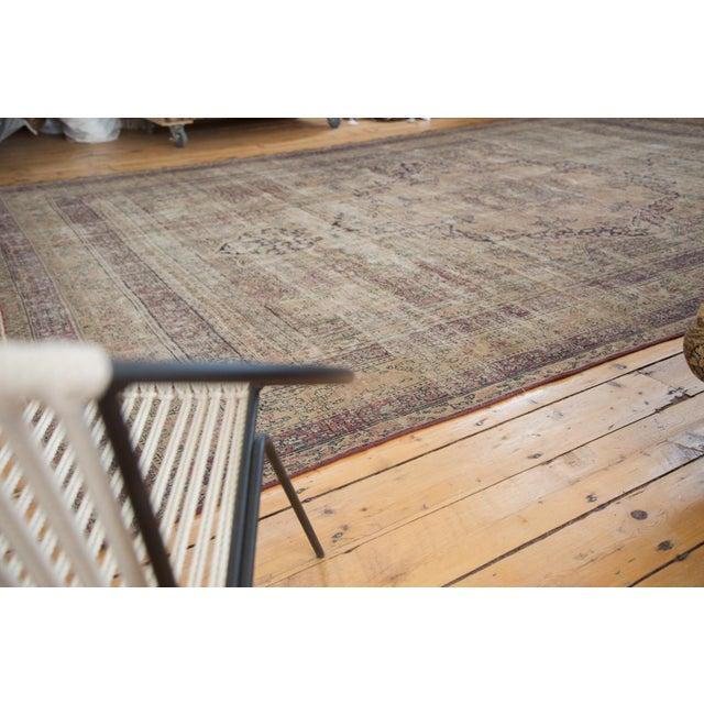 "Antique Persian Kerman Carpet - 9' X 13'1"" - Image 2 of 10"