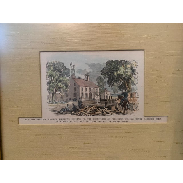 Late 19th Century Colored Etching, Framed For Sale - Image 4 of 6