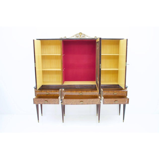 Highboard or Credenza From Italy 1959 For Sale - Image 9 of 12