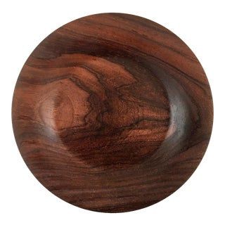Hand Carved Cocobolo Wood Bowl