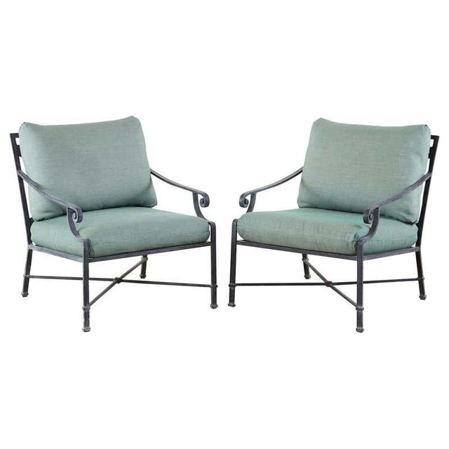Brown Jordan Venetian Aluminum Patio Lounge Chairs - a Pair For Sale - Image 13 of 13