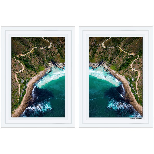 "Gray Malin ""Chapman's Peak"" Diptych Framed Signed Limited Edition Prints - a Pair For Sale"