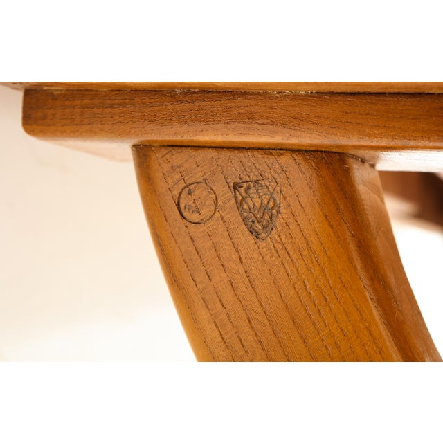 Guglielmo Pecorini Extension Dining Table For Sale - Image 12 of 13