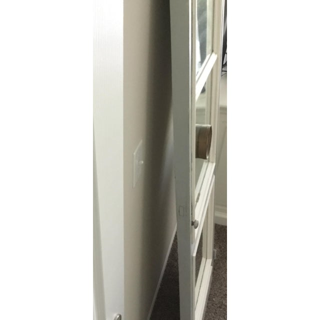 Late 19th Century Vintage Mirrored Door For Sale - Image 4 of 5