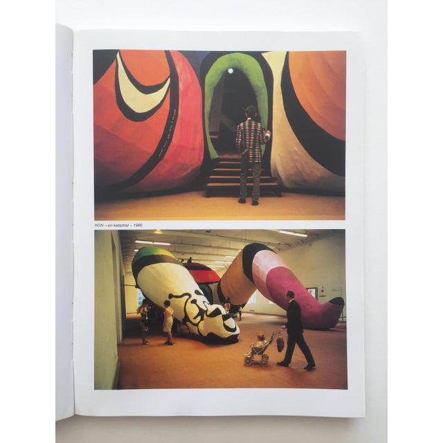 """Paper """" Moderna Museet Stockholm 1958 - 1983 """" Rare Vintage 1st Edition 25th Anniversary Collector's Modern Art Book For Sale - Image 7 of 13"""