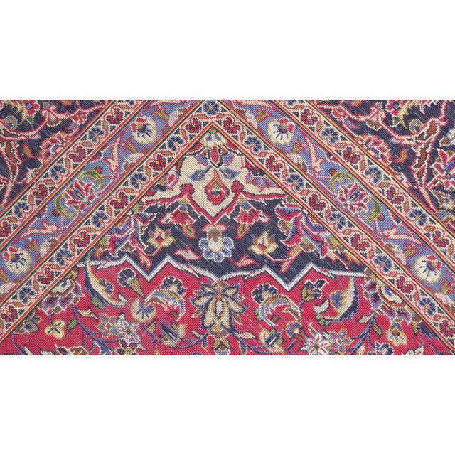 "Persian Silk Kashan Rug - 5' x 7'7"" - Image 7 of 7"