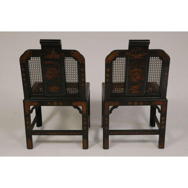 Chinoiserie Seating Suite For Sale - Image 9 of 10