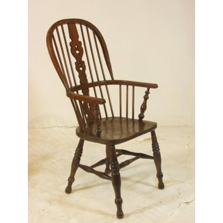 18th Century English Windsor Arm Chairs- Set of 6 Preview
