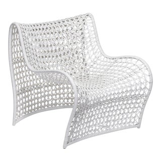Lola Indoor Chair, White For Sale