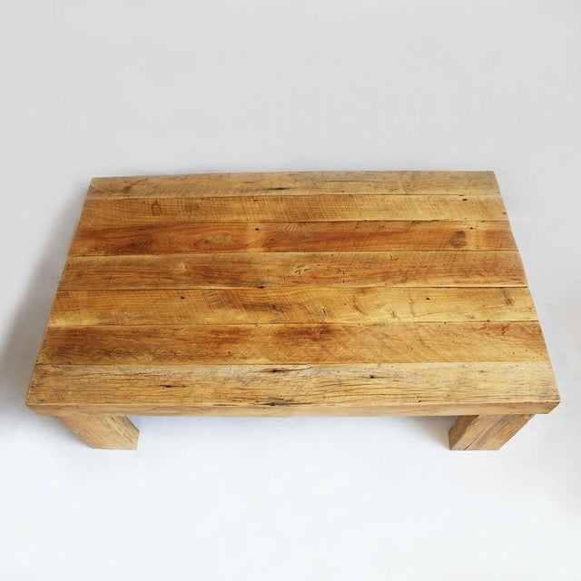 Reclaimed Oak Coffee Table - Image 3 of 3