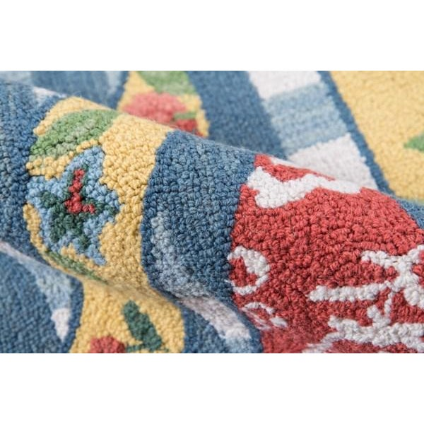 """Madcap Cottage Summer Garden Think of England Multi Area Rug 3'6"""" X 5'6"""" For Sale - Image 4 of 8"""