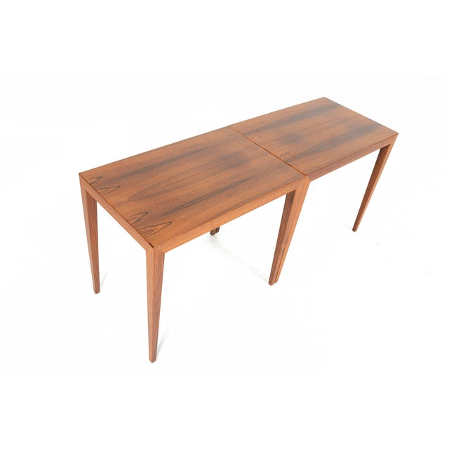 Severin Hansen Rosewood Side Tables - A Pair - Image 5 of 10