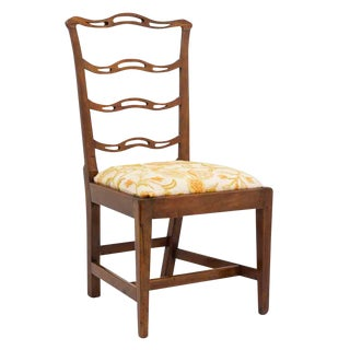 Mid 19th Century Georgian Ladder Back Chair For Sale