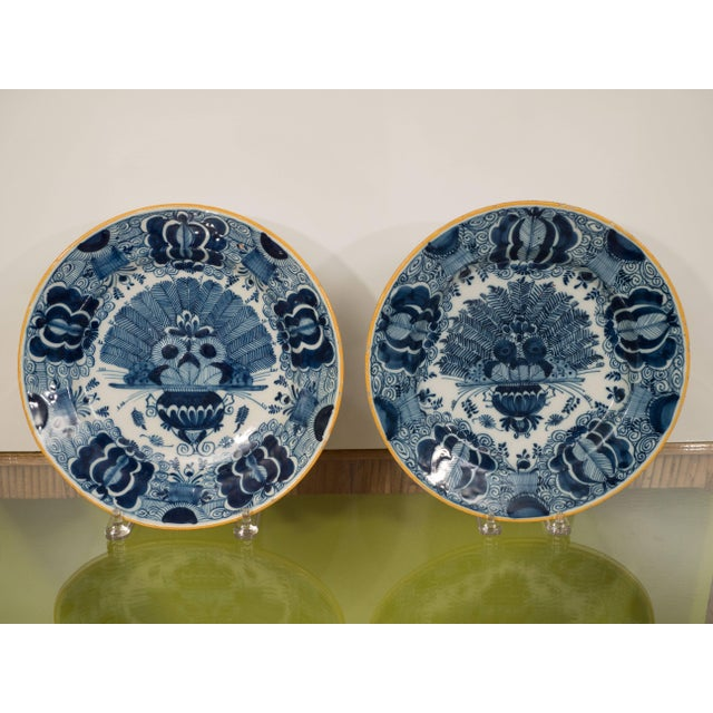 Clay Peacock Plate For Sale - Image 7 of 11