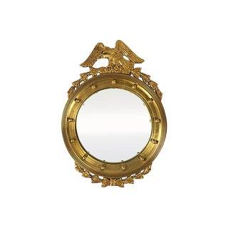 American Federal Gilt Convex Mirror For Sale