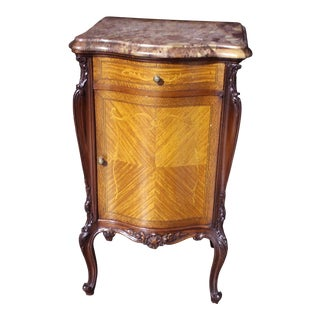 19th Century Louis XV-Style Mahogany Commode