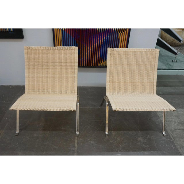 Poul Kjaerholm Pk22 Chairs for E.Kold Christiansen - a Pair For Sale - Image 10 of 10