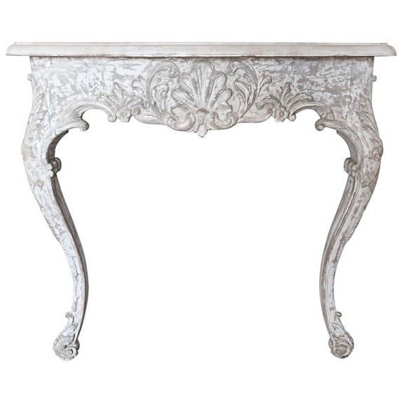 1930s Painted French Console - Image 5 of 7