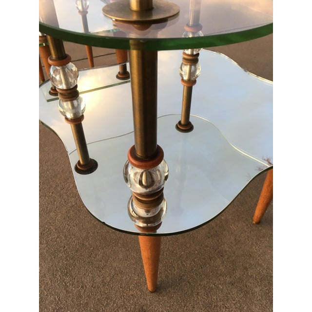 Metal Mid-Century Modern Cloud Table Manner of Gilbert Rhode For Sale - Image 7 of 13