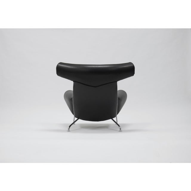 First edition Ox lounge chair by Hans Wegner for A.P. Stolen. This example has been completely refurbished in a lux,...