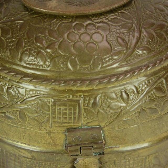 Brass Pandan Box For Sale - Image 5 of 5