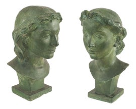 Image of Art Deco Statues