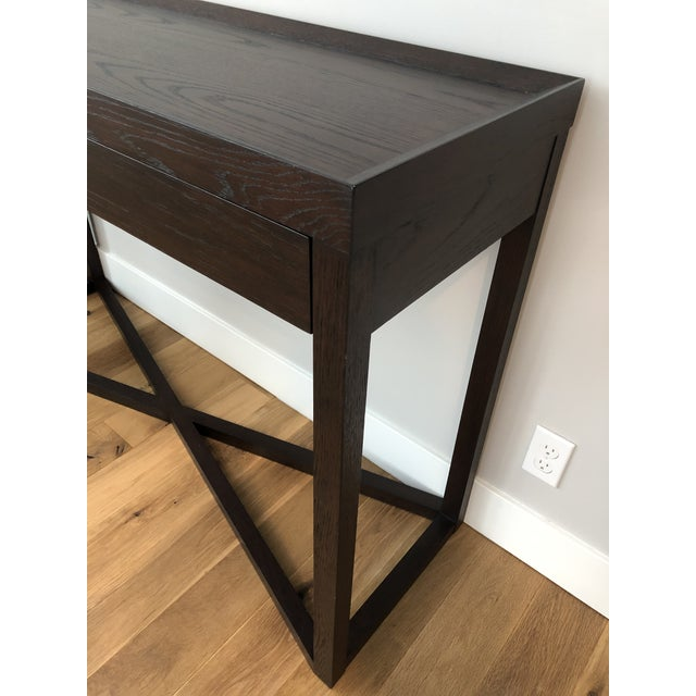 Modern Calvin Klein Console Table With Storage For Sale - Image 9 of 12