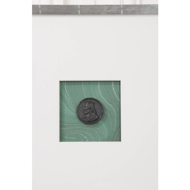 Contemporary Pair of Hatcher, New Orleans, Framed Intaglios For Sale - Image 3 of 9