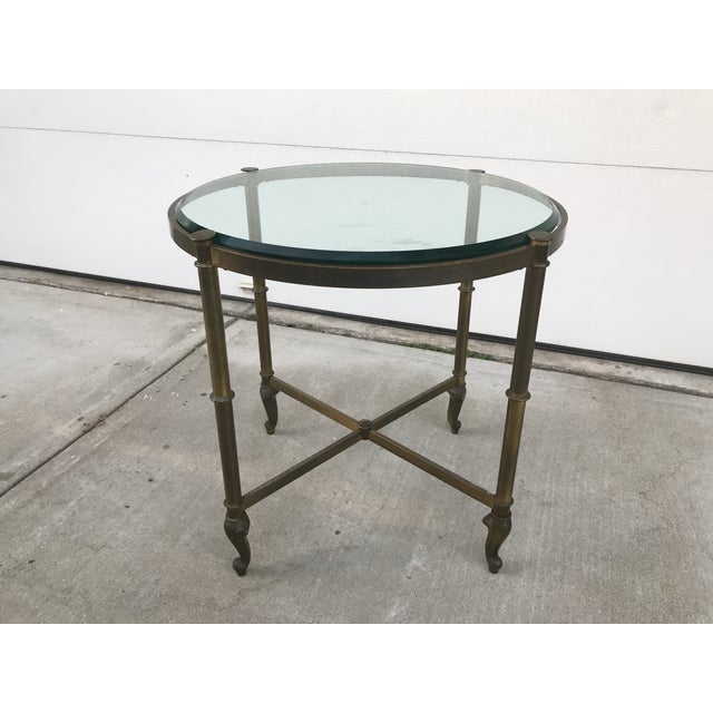 Regency Style Corner Table For Sale - Image 9 of 9