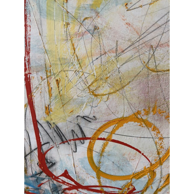 Abstract Washington Square Park Abstract Painting For Sale - Image 3 of 6