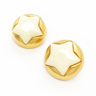 Puffy Star Earrings by Escada for a Fun Night Out Preview