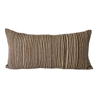 Moroccan Lumbar Kilim Pillow For Sale