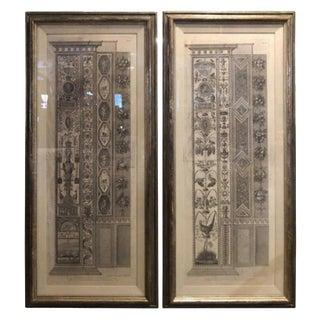 2 Piranesi Giovanni Ottaviani From the Loggia DI Raffaello the Vatican Palace For Sale