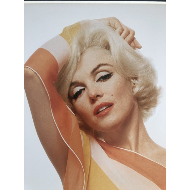 Marilyn Monroe / Striped Scarf Bert Stern Photograph Circa 1962 For Sale - Image 11 of 11
