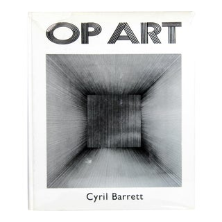 Op Art First Edition Book For Sale