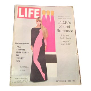 'Fall Fashions From Paris' 1966 Life Magazine Issue