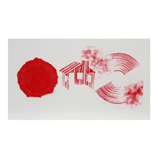 "James Rosenquist, ""Hot Lake"", Conceptual Aquatint Etching For Sale"