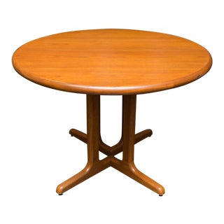 Mid-Century Modern Teak Round Dining Table