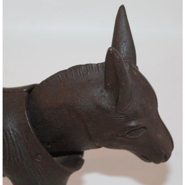 19Thc Donkey Door Stop With Nodder Head For Sale - Image 4 of 10