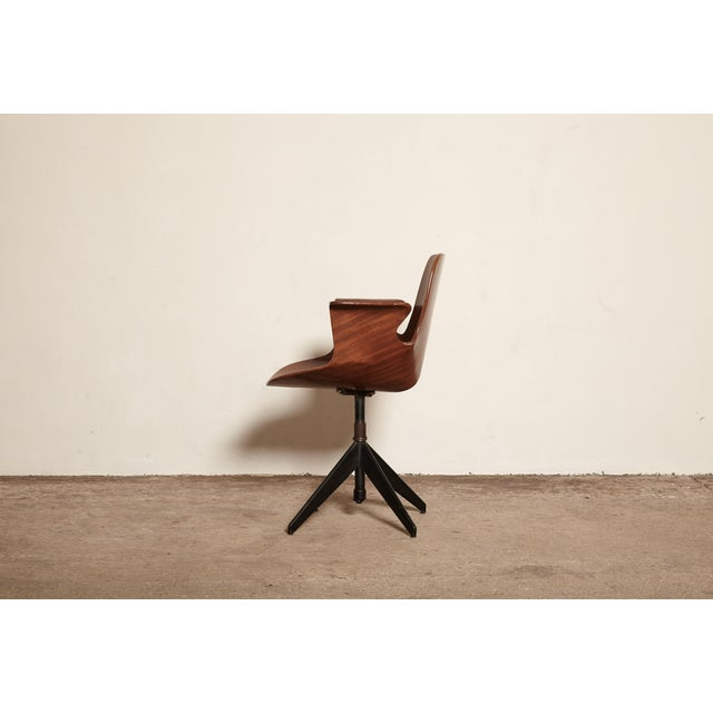 Vittorio Nobili for Fratelli Tagliabue Desk Chair, Italy, 1950s For Sale - Image 4 of 8