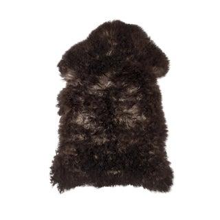 """Contemporary Natural Sheepskin Pelt - 2'0""""x3'0"""" For Sale"""
